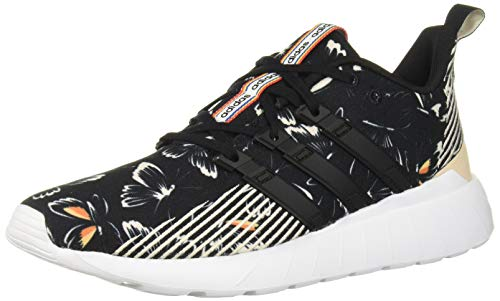adidas Women's Questar Flow Running Shoe, Black/Black/Grey, 7 M US