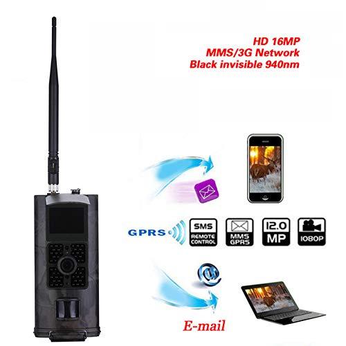 zhenyao HC-700G Jagdkamera 3G GPRS MMS SMTP SMS 16MP 1080P 120° PIR 940NM Infrarot Wildlife Nachtsicht Trail Kameras Falle