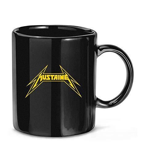 N\A Taza de café clásica Mustaine Metallica para Mujeres y Hombres Tazas de té