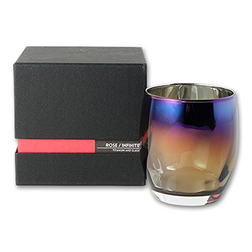 SUNFLY 正規品 味をまろやかにする チタンミラー グラス 日本製 ウイスキー 焼酎 ワイン に最適 マイクロフ...