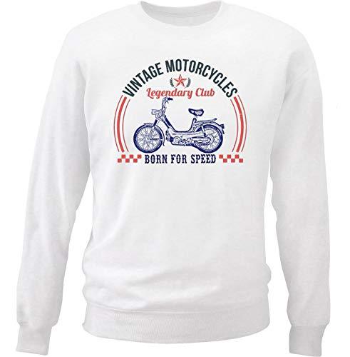 Teesandengines Benelli g2 pedali Vintage Motorcycles Sudadera Size Xlarge