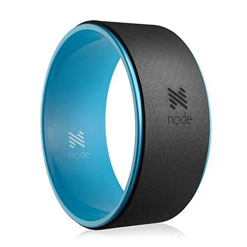 Node Fitness 13' Professional Yoga Wheel - Turquoise