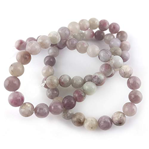 Charming Beads Quarzo Perline Lilla Tondo 6mm Filo di 55+