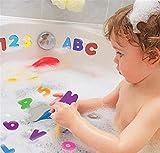 TrifyCore Bad-Accessoires Ungiftiger Schaumbad Spielzeug und Kinder-Bildungs Badezimmer Alphabet Spielzeug 36pcs