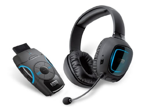 Creative Sound Blaster Recon3D Omega Wireless THX- Headset für PS4, PS3, Xbox, PC und Mac