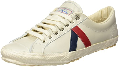El Ganso M Berliner Leather Walking, Zapatillas de Deporte Unisex Adulto, Blanco (White), 42 EU