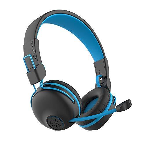 JLab Buddies Play Gaming Wireless Kids Headset | Blue | 22+ Hour Bluetooth 5 Playtime 60ms Super-Low...