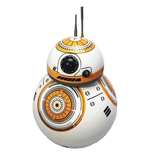 LYY Interesante Levitación magnética Control Remoto esférico Toy Star Wars BB8 Rodando y Bailando Robot Inteligente Regalo de los niños (sin batería) Interacción Familiar