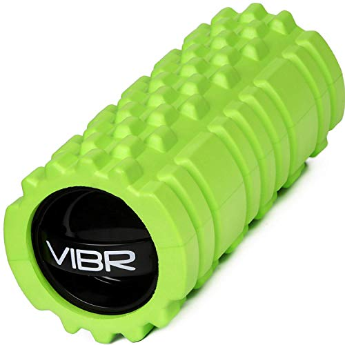 Vibrating Foam Roller for Muscle Recovery Deep Tissue Trigger Point Massage with 3 Speed Intensity for Sore Muscles, Joint, Back Pain Relief | Portable Self Massage by Emerge Fitness