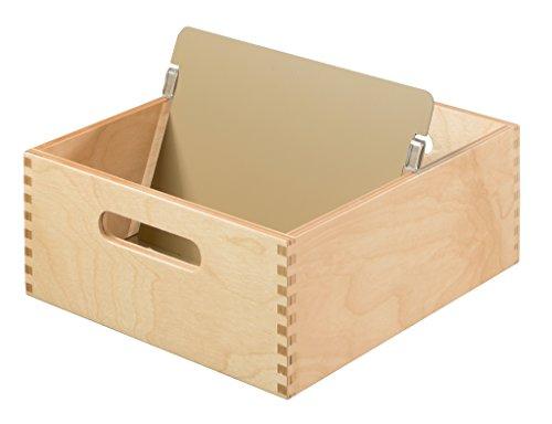 HAN Karteitrog 505-0, DIN A5 quer aus Holz / Hochwertige Lernkarteibox aus edlem & robustem Naturholz für 900 DIN A5 Karteikarten / Ideal zum Vokabeln lernen & als Lehrmaterial