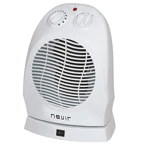 Nevir NVR-9509FH Termoventilador, 2000 W, oscilante, Blanco