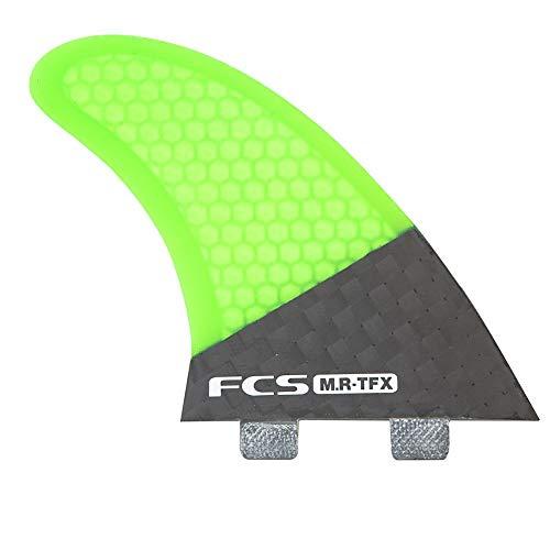 FCS MR-TFX Tri Fin Surfboard Fin Set - Green