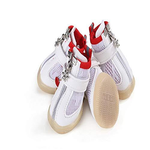 BXGZXYQ Zapatos De Perro Perro Deportes Al Aire Libre Malla Transpirable Zapatos...