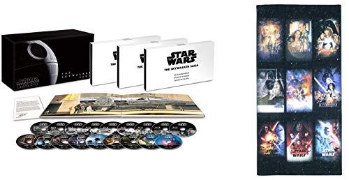 【Amazon.co.jp限定】スター・ウォーズ スカイウォーカー・サーガ 4K UHD コンプリートBOX(丸眞コラボレーション企画 オリジナルレジャーバスタオル付き) [4K ULTRA HD+ブルーレイ] [Blu-ray]
