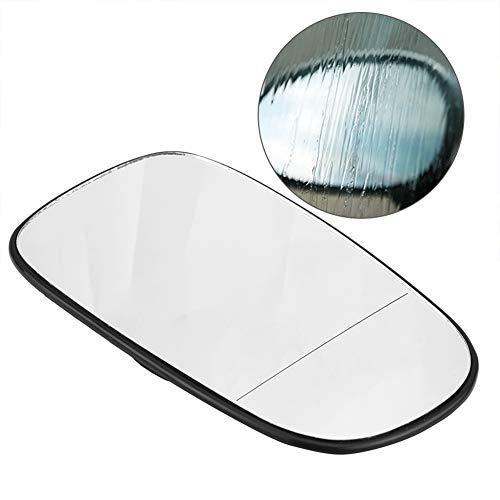 Kuuleyn - Cristal de espejo lateral SAAB de repuesto, gran angular, para puerta lateral izquierda, para espejo retrovisor para SAAB 9-3 Estate 9-3 YS3F 9-5 YS3E 1993 1995 2003-2010