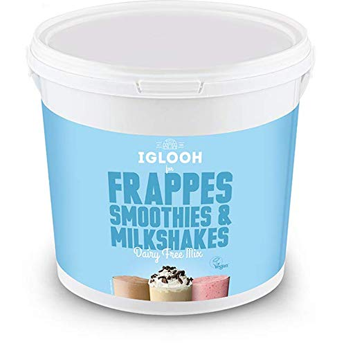 Shmoo Iglooh Frappe, Smoothie & Milkshake Mix 2KG Tub (No Cups) - Vegan Friendly!