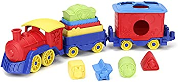 Green Toys Mickey Mouse & Friends Stack & Sort Train