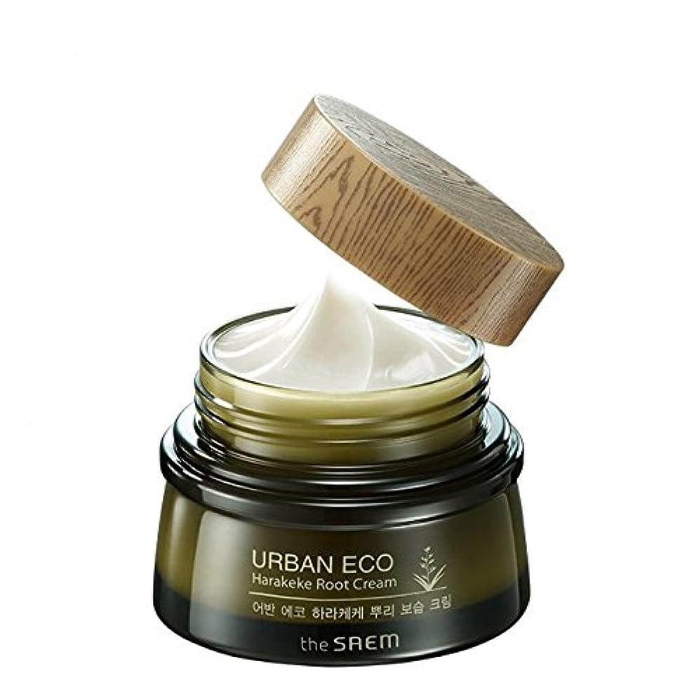 苦痛個人的なほうき[ザセム] The Saem [アーバンエコ ハラケケ 根保湿クリーム60ml (The Saem Urban Eco Harakeke Root Cream60ml)