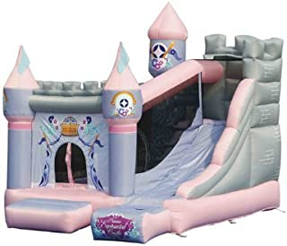 KIDWISE Princess Enchanted Castle Bounce House with Slide