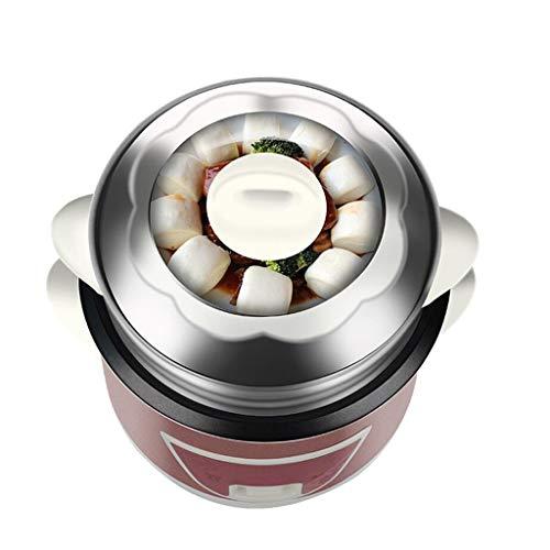 Mini cuiseur à riz antiadhésif automatique multifonctions , Cuiseur vapeur , Ragoût Operation Commande à soupe Un fonctionnement à un bouton , 3L / 4L (taille : 3L)