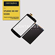 Black New Assembly Replacement for BLU Studio X8 HD S530X LCD Replacement Display Touch Screen Digitizer