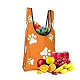 Mark Stars Paws Fold Eco-Friendly Shopping Bags Large Capacity Daily Necessity