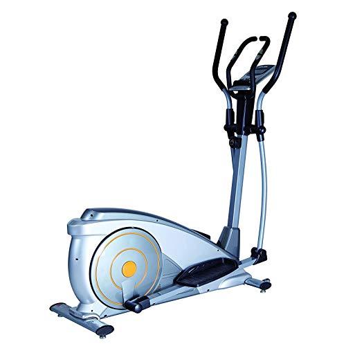 WJFXJQ Máquinas de Fitness de Paso, Entrenador de la máquina elíptica Equipo de Ejercicio de la Vida de la Vida con Monitor LCD para el Entrenamiento en casa.