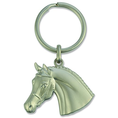 Happy Ross Llavero unisex 901040568 cabeza de caballo con brida 3D, multicolor, talla única