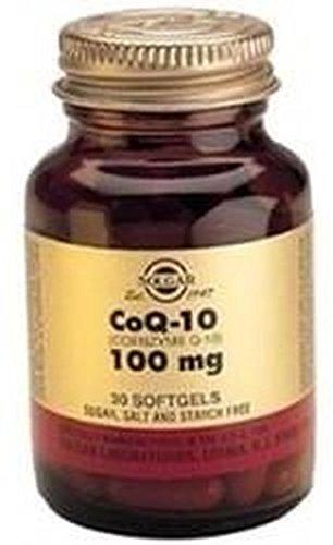 Coenzyme Q1030Soft Gelatin Capsules 100mg Solgar