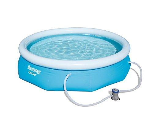 Bestway Fast Set Pool Set, rund, blau, 305 x 76 cm