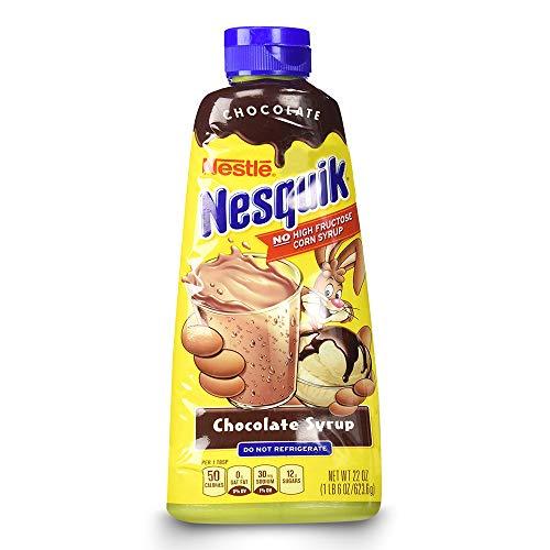 Nestle Nesquik Chocolate Syrup 22 oz by Nestle Nesquik