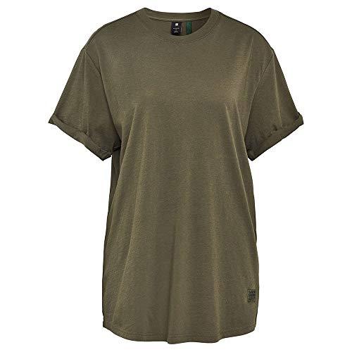 G-STAR RAW Womens Lash Fem Loose T-Shirt, Combat 4107-723, M