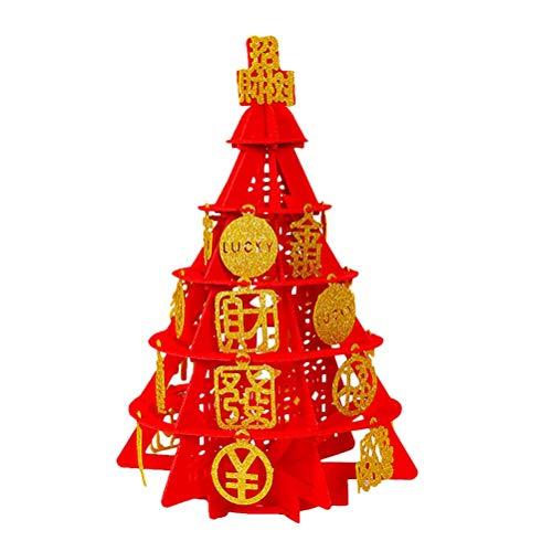 Money Tree Rat Year Lucky Tree Tower Wystrój pulpitu Wystrój strony dla sklepu domowego (duży)