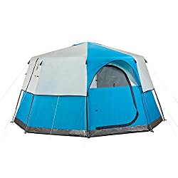 Stand up inside tent