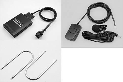 Yatour YTM06-FRD1-BT Adattatore interfaccia USB, SD, AUX, MP3 e Adattatore Vivavoce Bluetooth, Compatibile con Ford Auto