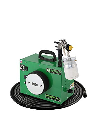 Apollo Sprayers HVLP POWER-5 VS 5-Stage Turbo Paint System+7700QT Gun & 32' Hose