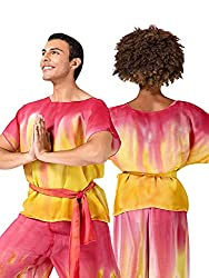 Watercolour Adult Unisex Hand Painted Worship Short Sleeve Tunic WC102