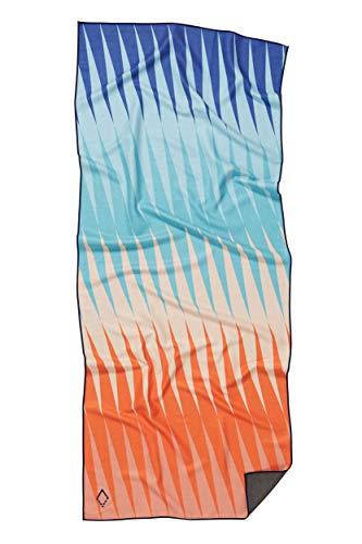 Nomadix Yoga-, Camping-, Strand- und Reisehandtuch (Heat Wave Red/Blue, einseitig)