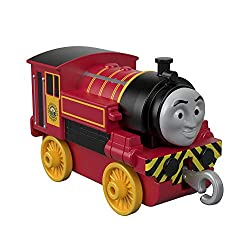 ​Includes die-cast metal engines and vehicles ​Features plastic connectors to attach engines to cargo cars or tenders (sold separately and subject to availability) ​Works on Thomas & Friends Adventures train tracks (sold separately and subject to ava...