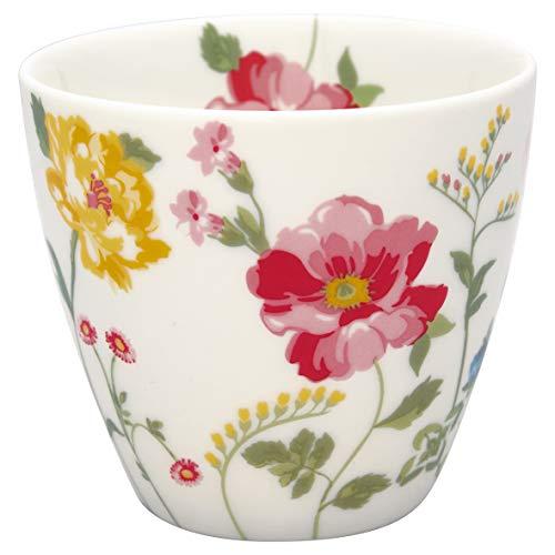 GreenGate - Tasse, Latte Cup - Thilde - White - Porzellan - 300 ml
