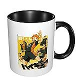 Haikyuu Anime Tazza da caffè in ceramica unica divertente tazza da caffè Novità tazza da viaggio vacanza San Valentino festa della mamma regalo per uomini e donne tazze da tè e caffè