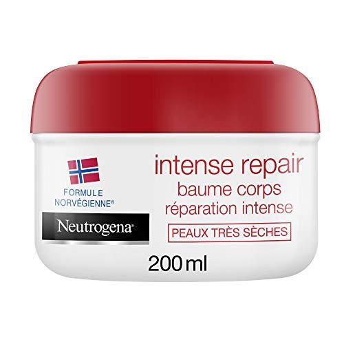 Neutrogena Réparation Intense, Baume Hydratant Corps, Pour Peaux Très Sèches, 1 Pot de 200ml