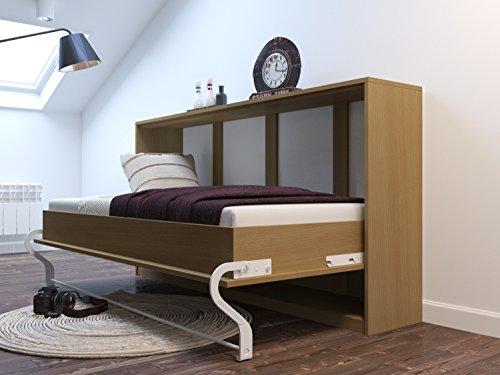 Armadio letto 90cm orizzontale buche Smart letto Smart punto freddo schiuma materasso 90x 200cm