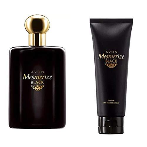 Avon Mesmerize Black pour lui EDT et après-rasage Conditioner 100 ml