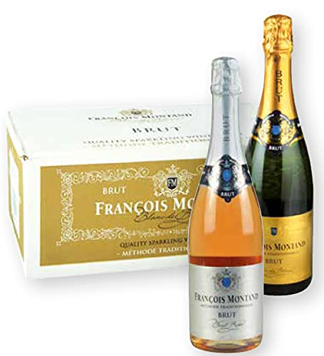 VINO FRANCESE FRANCOISE MONTAND BRUT MÉTHODE TRADITIONNELLE - 6 bottiglie da 75 cl.