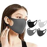 Naturali マスク 立体型 洗えるマスク 繰り返し使用可 男女兼用 花粉症 対策 予防 ウレタン 6枚セット ナチュラルアイ HOMARE株式会社 (ライトグレー6枚)