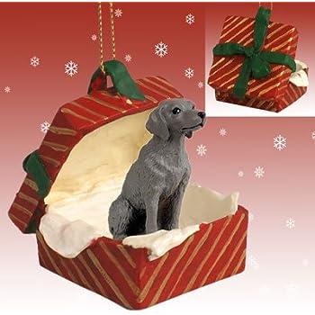 Weimaraner Miniature Dog Ornament