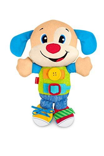 Fisher-Price- Disney Peluche perrito vísteme y aprende, Multicolor (Mattel FBP25) , color/modelo surtido