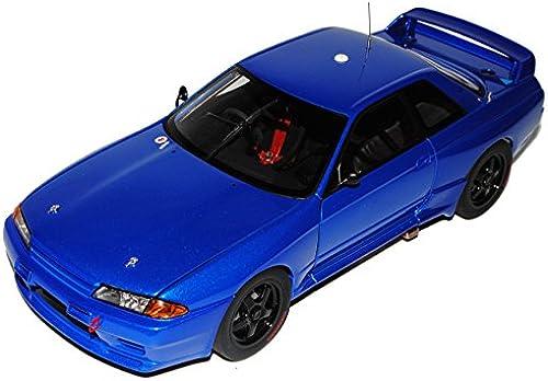 AUTOart Nissan Skyline GT-R R32 Plain Body Blau Coupe 1989-1993 89281 1 18 Modell Auto