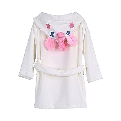 Toddler Baby Bathrobes for Girls Boys Soft Cotton Robes Kids Unicorn Bathrobe Sleepwear 2-8T